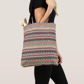 Stammes- Muster Tasche