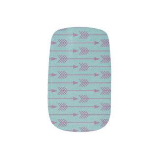 Stammes- Nagel-Kunst Minx Nagelkunst