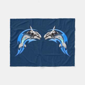 Stammes- Orcas-kleine Fleece-Decke Fleecedecke