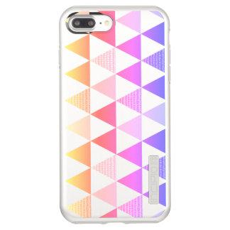 Stammes- Pfeil-Regenbogen-Prisma geometrisch Incipio DualPro Shine iPhone 8 Plus/7 Plus Hülle
