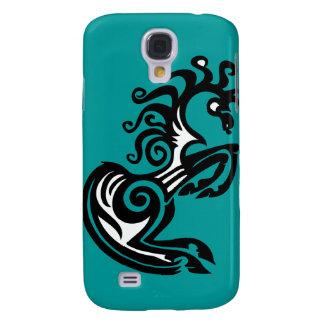Stammes- Pferdeentwurf Galaxy S4 Hülle