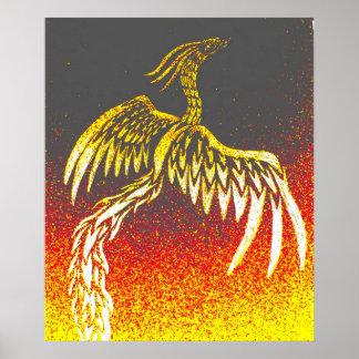 Stammes- Phoenix Poster