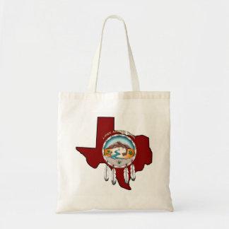 Stammes- Schild-Texas-EinkaufsTaschen-Tasche Tragetasche
