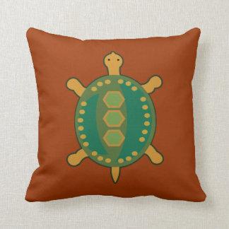 Stammes- Schildkröte Kissen