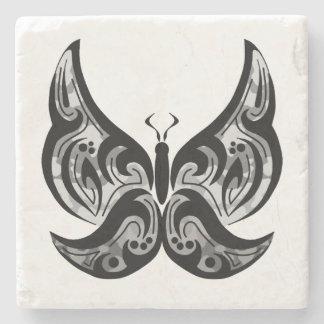 Stammes- Schmetterlings-Untersetzer Steinuntersetzer