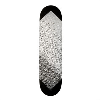 Stammes- Schwarzweiss-Muster-kundengerechte Skateboard