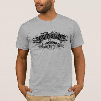 Stammes- T - Shirt des Entwurfs-(dunkles Logo mit