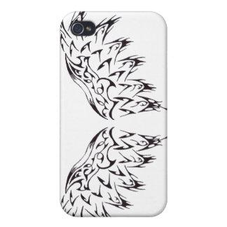 Stammes- Tätowierungs-Flügel Etui Fürs iPhone 4
