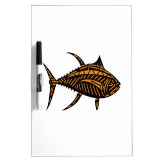 Stammes- Thunfisch Trockenlöschtafel