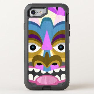 Stammes- Tiki Hawaiianer Luau OtterBox Defender iPhone 8/7 Hülle