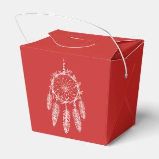 Stammes- Traumfänger-rote Ureinwohner-Hochzeit Geschenkschachtel
