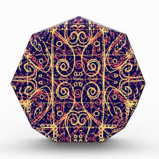Stammes- verziertes Muster Auszeichnung