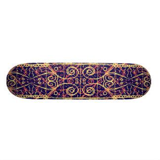 Stammes- verziertes Muster Skateboard Deck