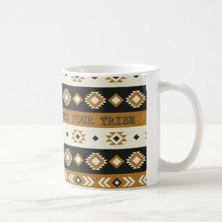 Stammes- Vibe-Muster-Tasse Kaffeetasse