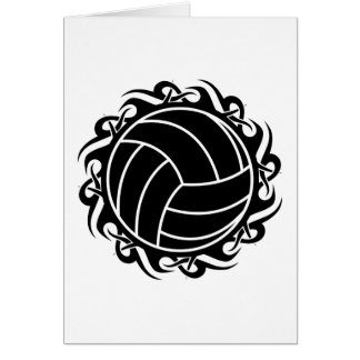 Stammes- Volleyball Karte