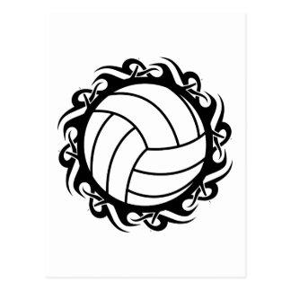Stammes- Volleyball Postkarte