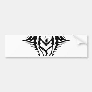 Stammes- Wolf Autoaufkleber