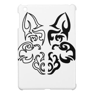 Stammes- Wolf iPad Mini Cover