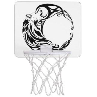Stammes- Wolf Mini Basketball Ring