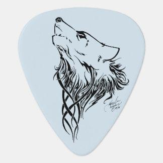 Stammes- Wolf Plektron