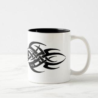 Stammes- Zweifarbige Tasse