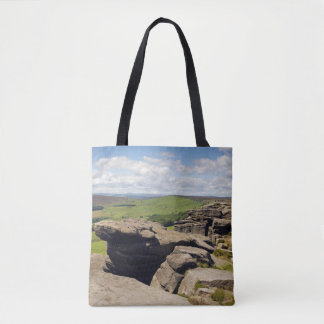 Stanage Rand, Derbyshire-Foto Tasche