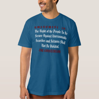Stand für Ihre Rechte: Das F* das TSA Reise-Shirt T-Shirt