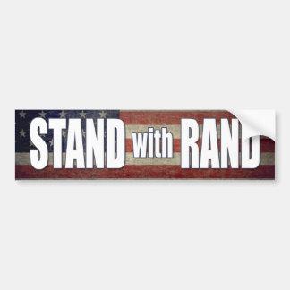 Stand mit Rand Paul 2016 Autoaufkleber