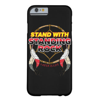 Stand mit stehendem Felsen-Wasser ist Leben Barely There iPhone 6 Hülle