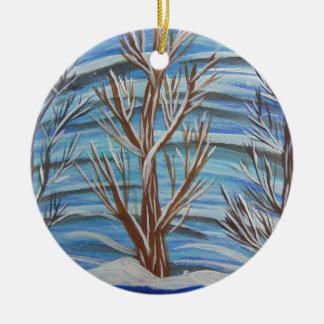 Stand stolz rundes keramik ornament