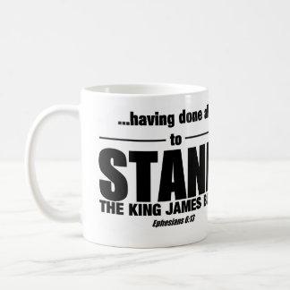 Stand-Tasse! Kaffeetasse
