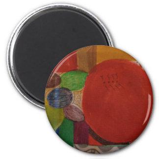 Standard 2 1/4 runder Magnet