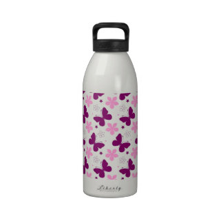 standard der Schmetterlinge Trinkflasche