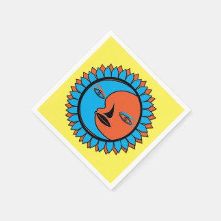 Standardcocktail MOND-SONNE-REFLEXION Papierserviette