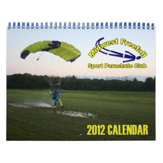 Standardgröße des Mittelwesten-Fall-Kalenders 2012 Wandkalender