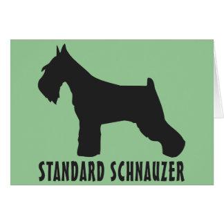 StandardSchnauzer Karte