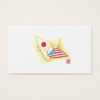 StandardVisitenkarten ~ Japan-USAfreundschaft Visitenkarte