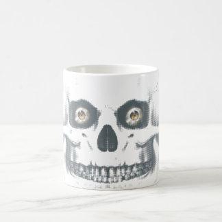 Standardzombie-Schädel-Becher Kaffeetasse