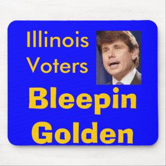 STANGE, IllinoisVoters, BleepinGolden - besonders  Mousepad