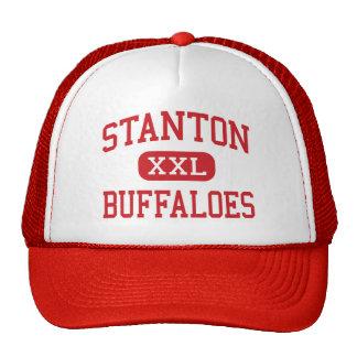 Stanton - Büffel - Mitte - Stanton Texas Baseball Kappe