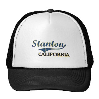 Stanton Kalifornien Stadt-Klassiker Tuckercaps