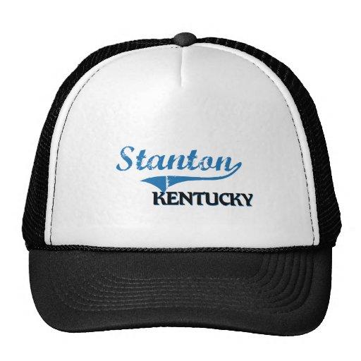 Stanton Kentucky Stadt-Klassiker Trucker Kappe