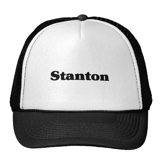 Stanton Klassikert-shirts Retrokultkappe