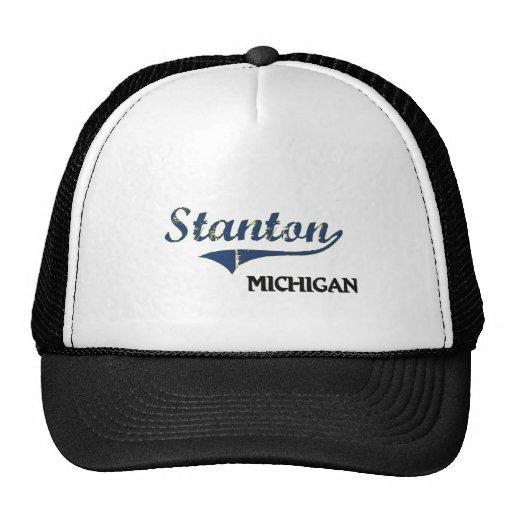 Stanton Michigan Stadt-Klassiker Netz Caps