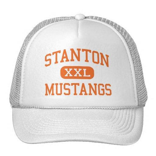 Stanton - Mustangs - hoch - Stanton Nebraska Trucker Caps