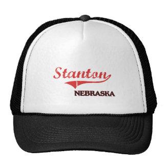 Stanton Nebraska Stadt-Klassiker Retromütze