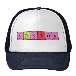 Stanton Periodensystem-Namenhut Kultkappe