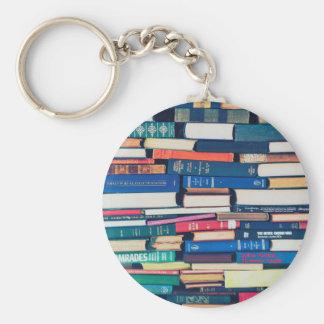 Stapel Bücher Schlüsselanhänger