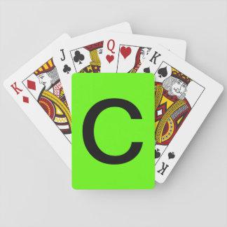 Stapel C Spielkarten