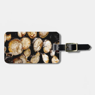 Stapel der Klotz Kofferanhänger